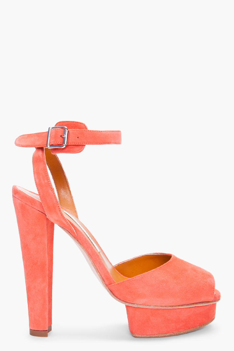Carven Suede Peep-Toe Pumps discount comfortable clearance shopping online prices cheap online free shipping prices sale nicekicks OvLkXJiAjX