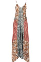 Zimmermann Collector Printed Cotton Maxi Dress - Lyst