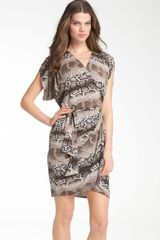 Abi Ferrin Diana Wrap Dress - Lyst