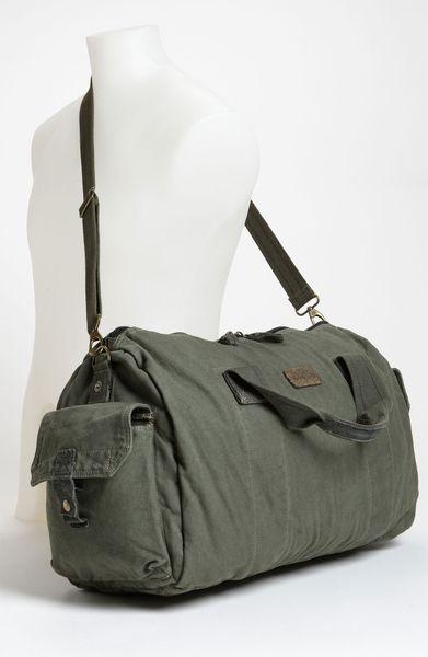 bed stu vick duffel bag in gray for men grey lyst. Black Bedroom Furniture Sets. Home Design Ideas