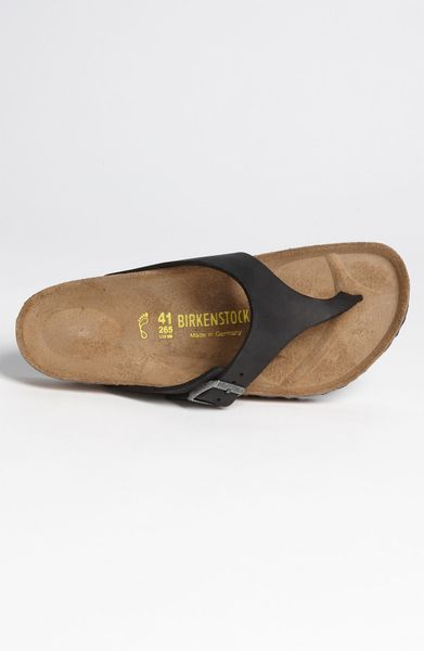 birkenstock como flip flop men in black for men black. Black Bedroom Furniture Sets. Home Design Ideas