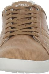 Lacoste Lamarck 3 Oxford in Brown for Men (light brown) - Lyst