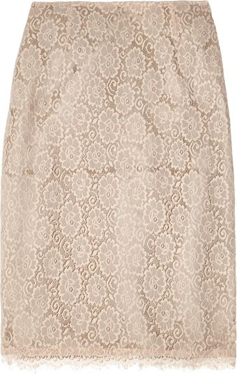 Day Birger Et Mikkelsen Bella Lace Pencil Skirt - Lyst