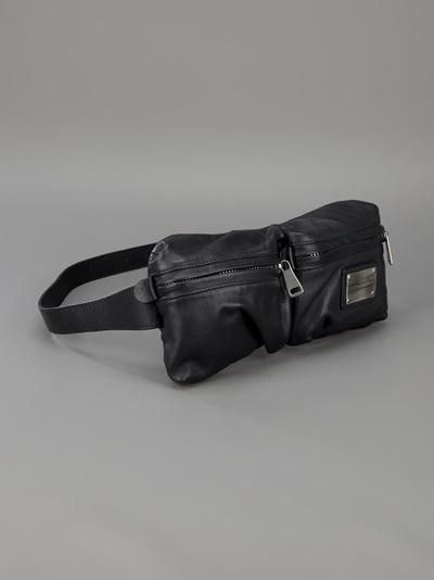 79cdb13f9a Dolce   Gabbana Waist Belt Bag in Black for Men - Lyst