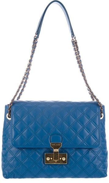 Marc Jacobs Xl Single Bag in Blue - Lyst