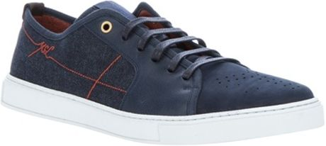 Yves Saint Laurent Leather Sneaker in Blue for Men - Lyst