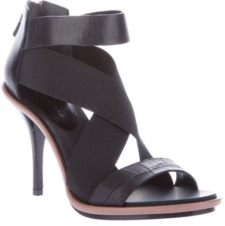Balenciaga Multi Strap Sandal in Black (multi) - Lyst