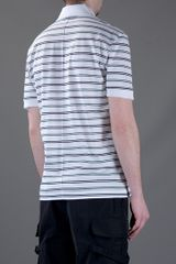 Givenchy Striped Polo Shirt in Blue for Men (white) - Lyst