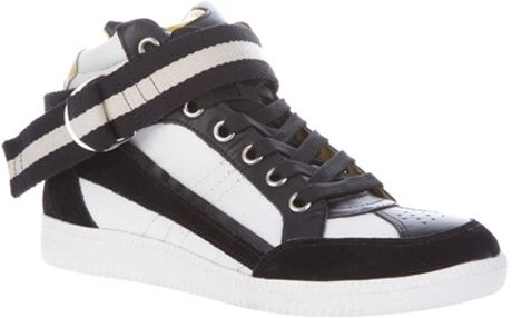 Iro High Top Trainer in Black (white) - Lyst