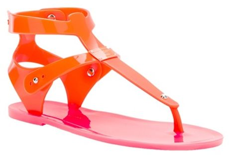 Marc By Marc Jacobs Fluoro Sandals in Orange - Lyst