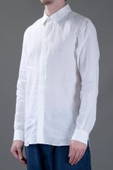 Marc Jacobs Classic Shirt in White for Men - Lyst