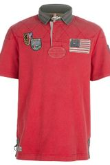Polo Ralph Lauren Patch Polo - Lyst