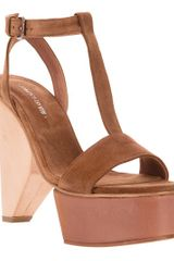 Surface To Air Louna Tstrap Sandal - Lyst