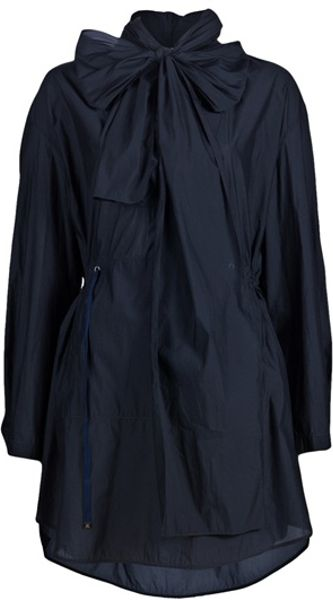 3.1 Phillip Lim Transformable Hooded Parka in Blue (navy)