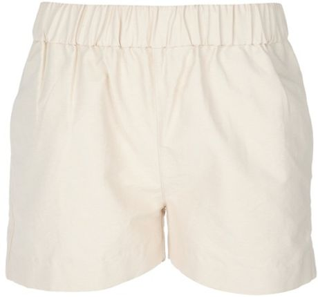 Acne Ninette Shorts in Beige (cream) - Lyst