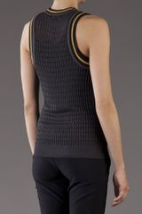 Alexander Wang Knit Tank in Black - Lyst