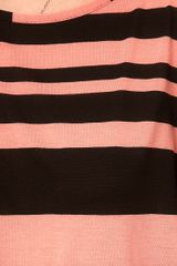 Asos Collection Asos T Shirt in Mix Stripe in Pink (multi) - Lyst