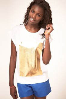 ASOS Collection Asos Tshirt with Foil Print - Lyst