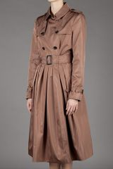 Burberry Prorsum Mac Coat in Brown (copper) - Lyst