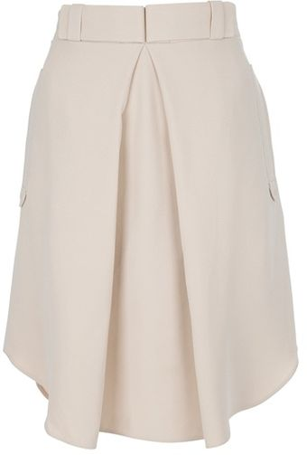 Chloé Flared Skirt - Lyst
