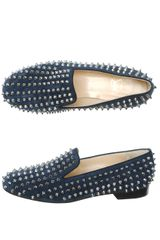 Christian Louboutin Rolling Spike Slipper Shoes