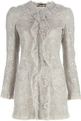 Dolce & Gabbana Lace Detail Jacket