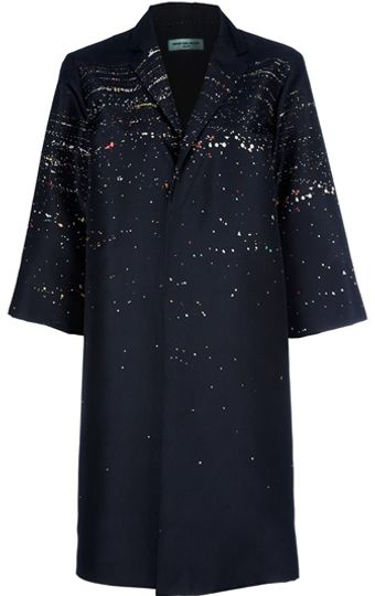 Dries Van Noten Long Jacket - Lyst
