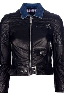 DSquared2 Biker Jacket - Lyst