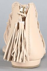 Dv By Dolce Vita The Ilana Sandal in Nude Stella in Beige (nude) - Lyst