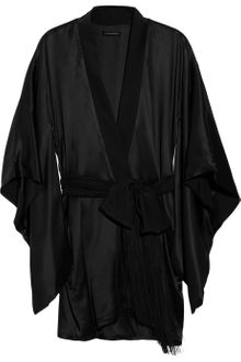 Kiki De Montparnasse Amour Collection Silkcharmeuse Robe - Lyst