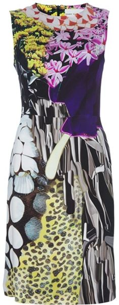Mary Katrantzou Shift Dress - Lyst