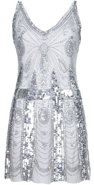 Pierre Balmain Sequin Dress - Lyst