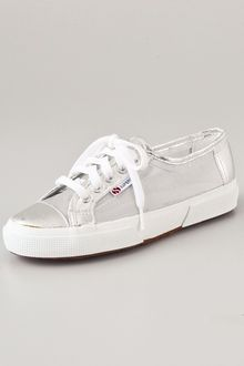 Superga Mesh Metallic Netu Sneakers - Lyst