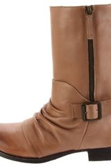 Vince Camuto Womens Shada Bootie in Brown (mushroom) - Lyst