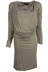 Vivienne Westwood Anglomania Draped Dress - Lyst