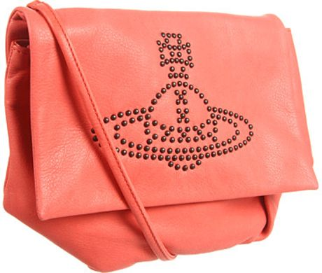 Vivienne Westwood Twisted Medium Clutch in Orange (p) - Lyst