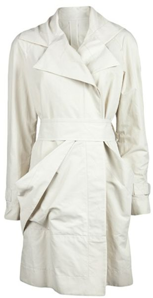 Vivienne Westwood Red Label Waterproof Mac Trench in White - Lyst