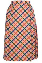 Yves Saint Laurent Vintage Crisscross Skirt - Lyst