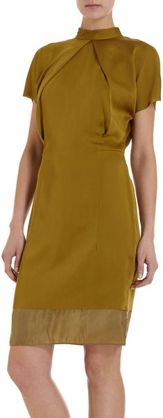 Acne Short Sleeve Dress - Lyst