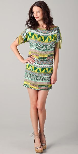 Antik Batik Jacara Mini Dress - Lyst