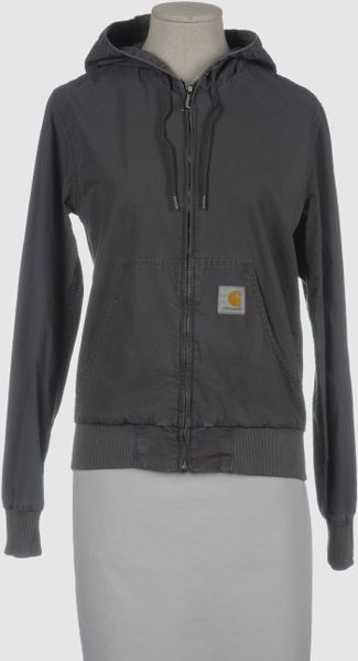 Carhartt Jacket in Black - Lyst