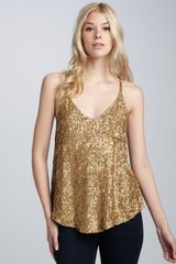 Dallin Chase Midas Field Beaded Tank - Lyst