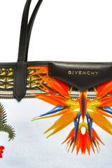Givenchy Canvas Antigona Tote Bag in Orange - Lyst