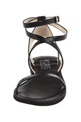 Kors By Michael Kors Rosemary Flat Sandals in Black (b) - Lyst
