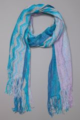Missoni Scarf 1 in Blue - Lyst