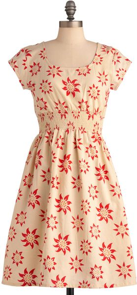 ModCloth Chance Of Sunshowers Dress - Lyst