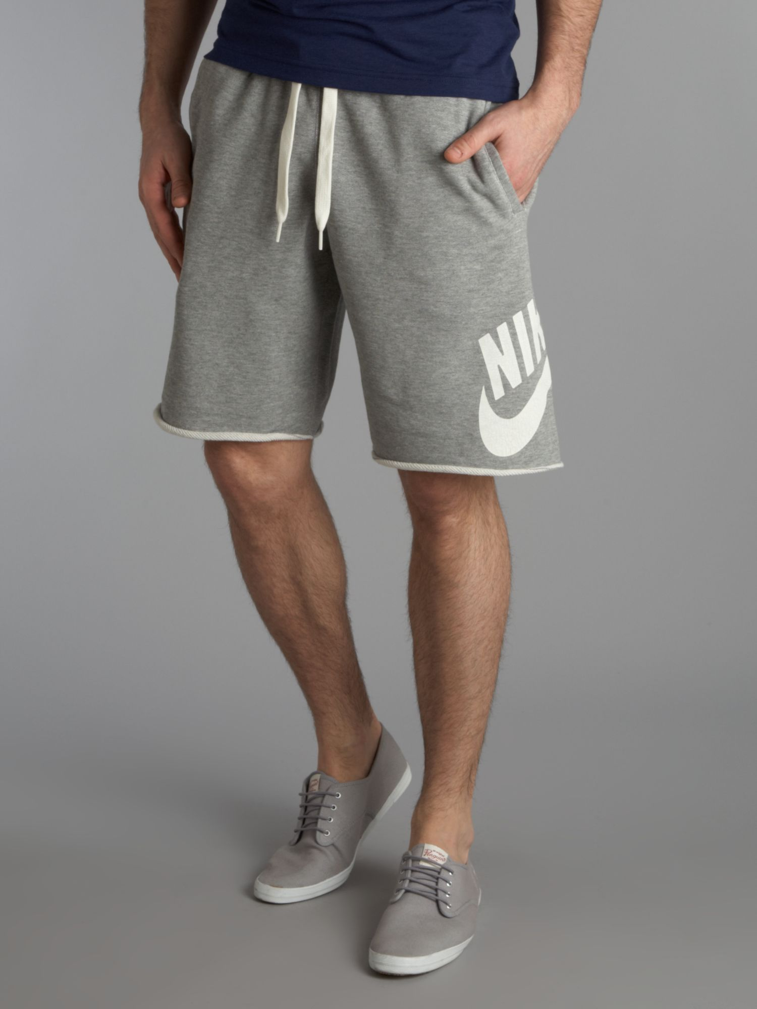 Nike Classic Sweat Shorts in Gray for Men