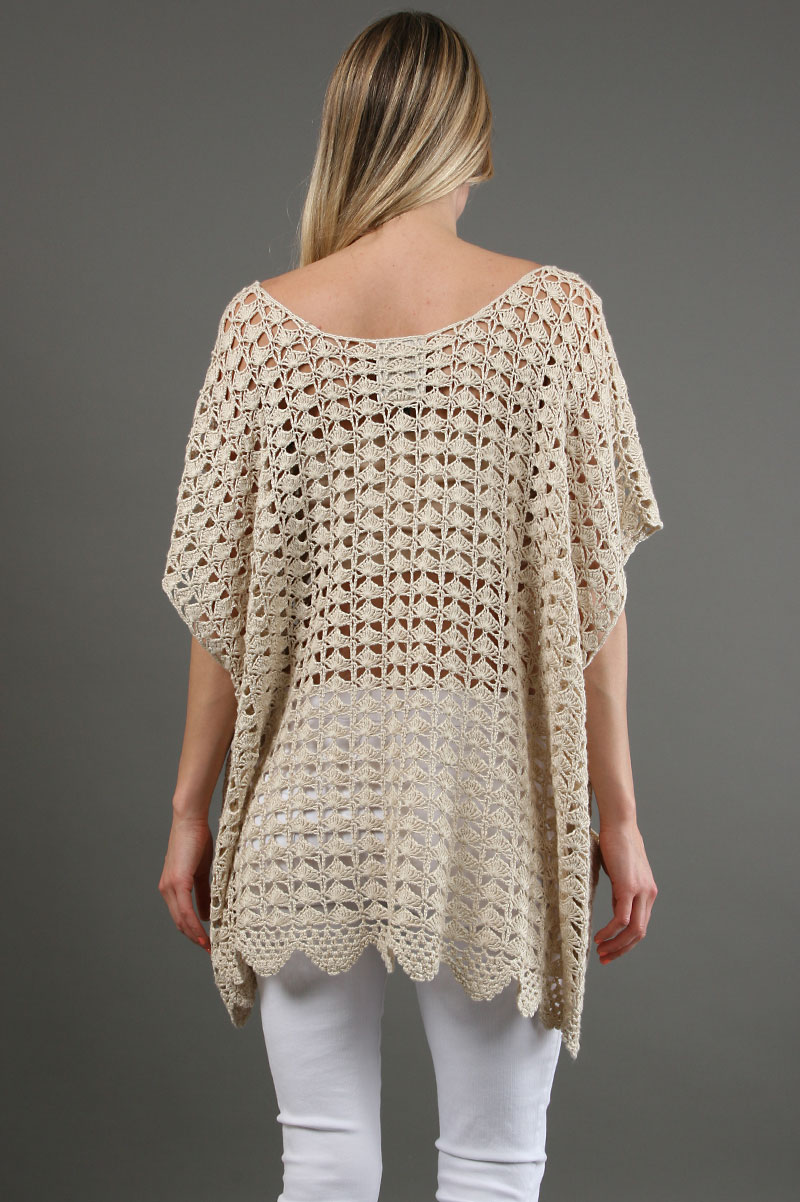 Crochet Poncho : ... Crochet Style, One Teaspoon, Openwork Crochet, Crochet Ponchos