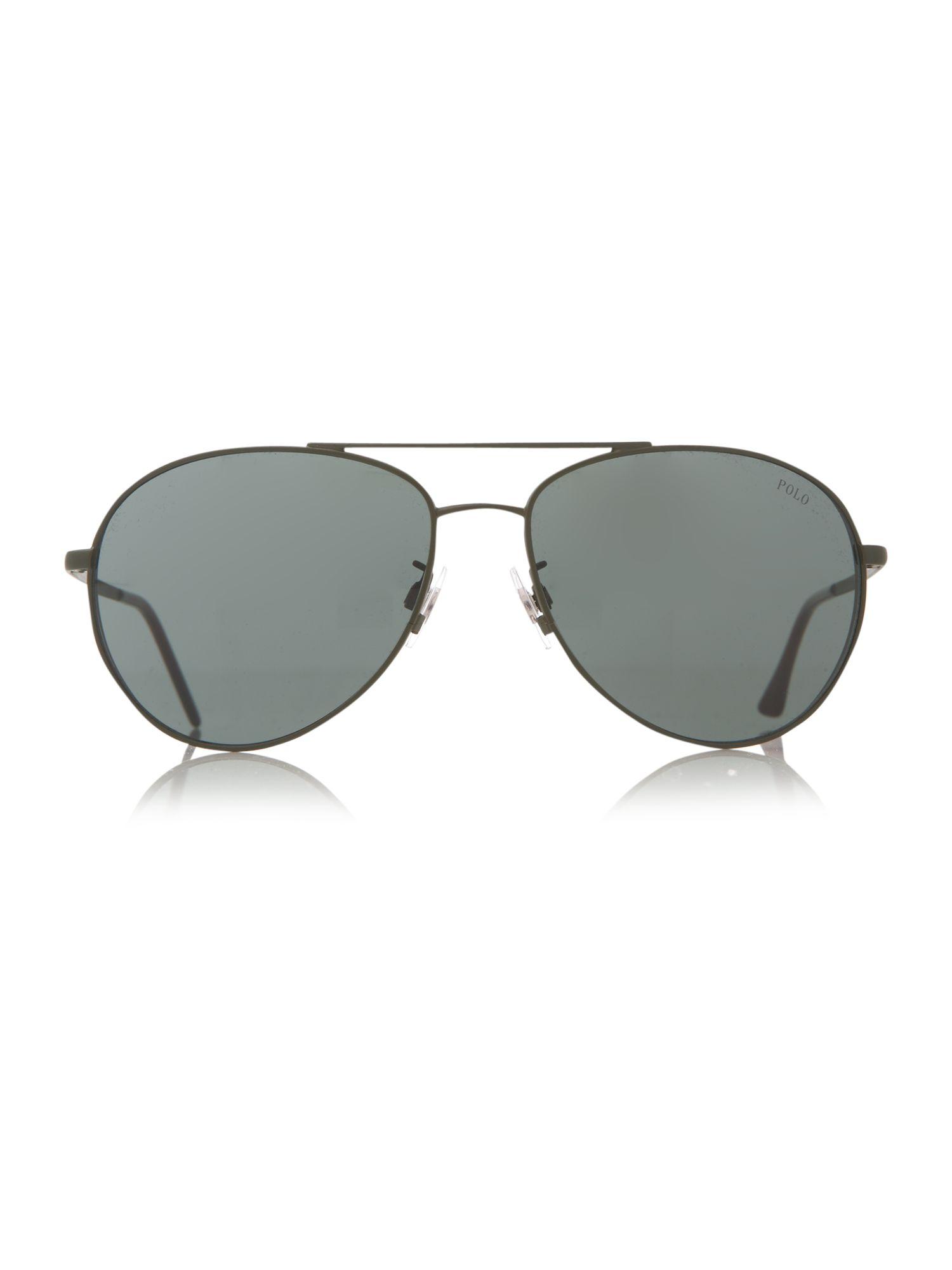 Ralph Lauren Sunglasses Men  polo ralph lauren mens sunglasses in gray for men lyst