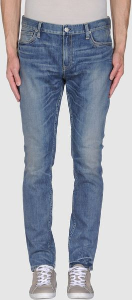 Ralph Lauren Denim Trousers in Blue for Men - Lyst